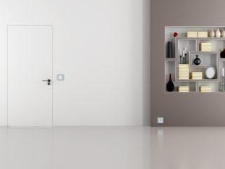 drzwi zlicowane ze ścianą