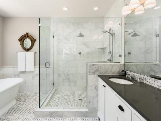 luksusowy prysznic